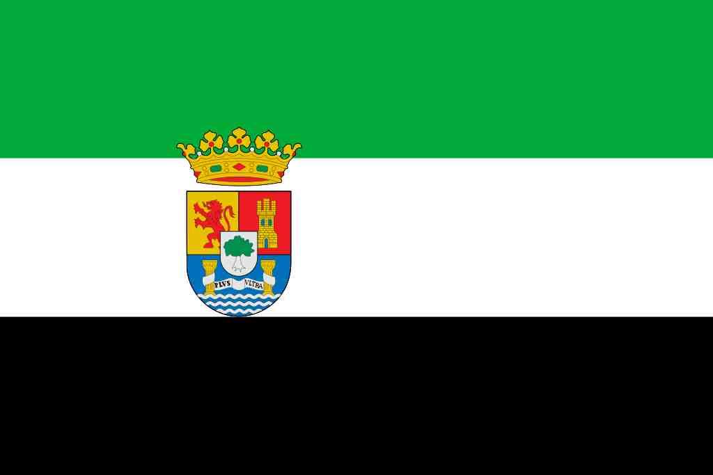 bandera comunidad de extremadura