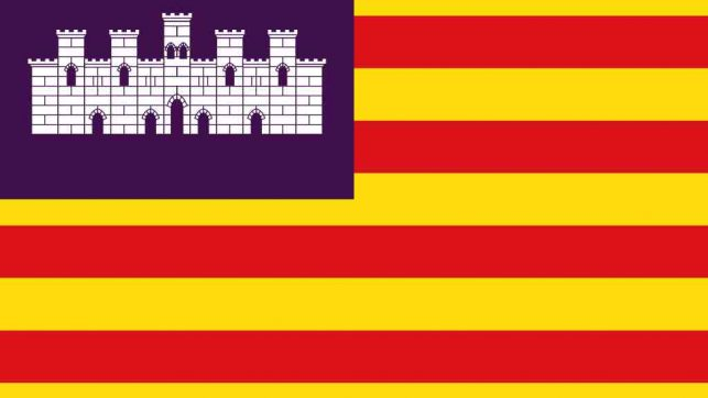 Bandera Comunidad de baleares