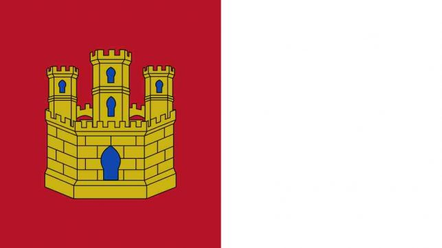Bandera comunidad castilla la mancha